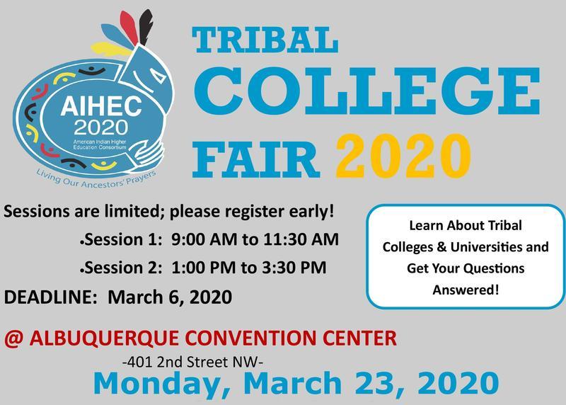 AIHEC 2020 TCU College Fair Featured Photo