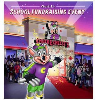 CHUCK E. CHEESE SCHOOL FUNDRAISING NIGHT Featured Photo