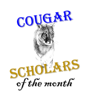 Cougar scholars of the month