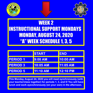 Instructional Support Monday, August 24, 2020.png