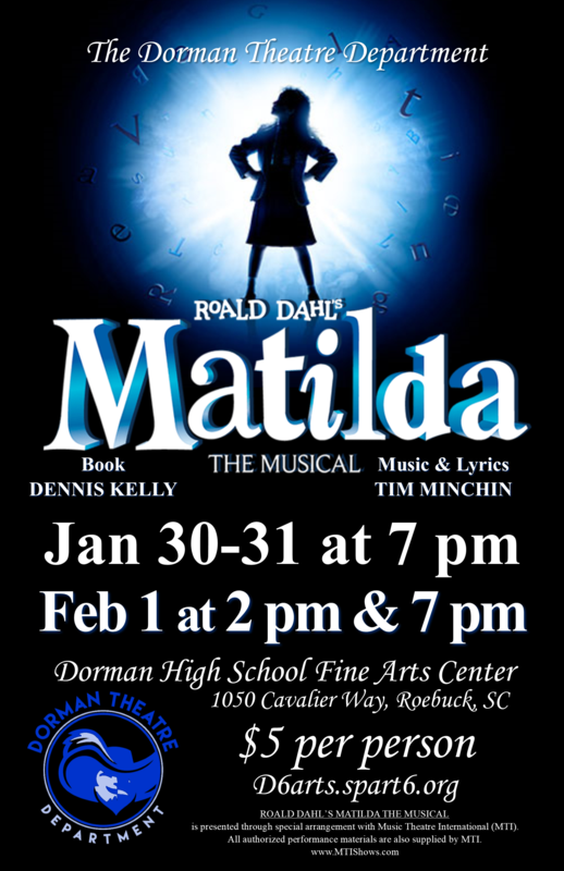 Matilda Flyer -  Same info is in the text of the article.