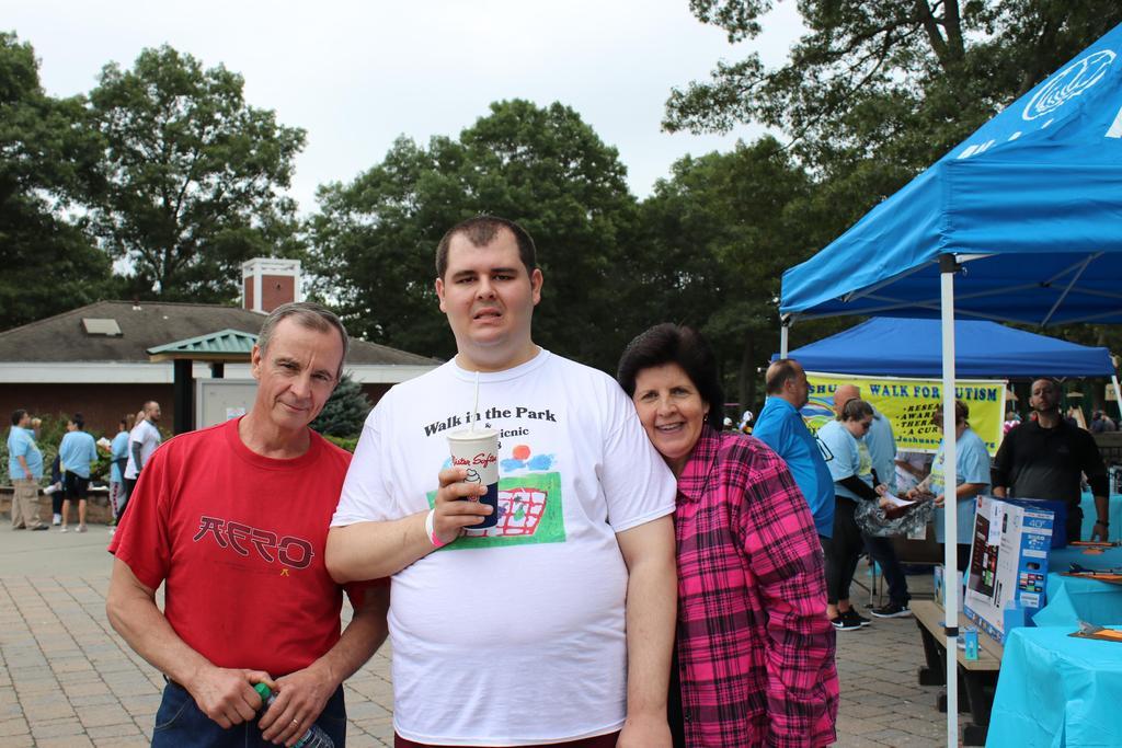 DDI Walk guests/volunteer