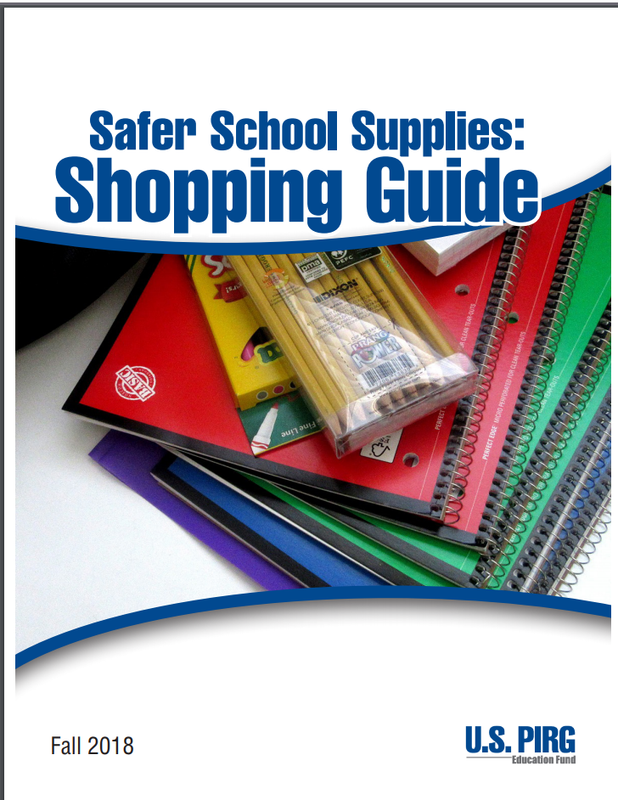 Safer School Supplies Guide Image