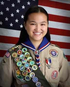 First Female Eagle Scout in the Rose Bowl District Featured Photo