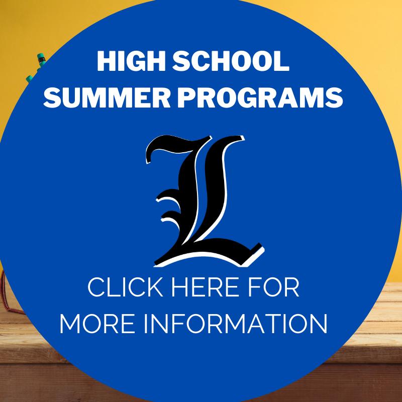 High School Summer Programs link