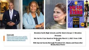 She Sat So I Can Stand - A Celebration of Black Excellence - March 3, 2021 - 3:00 PM