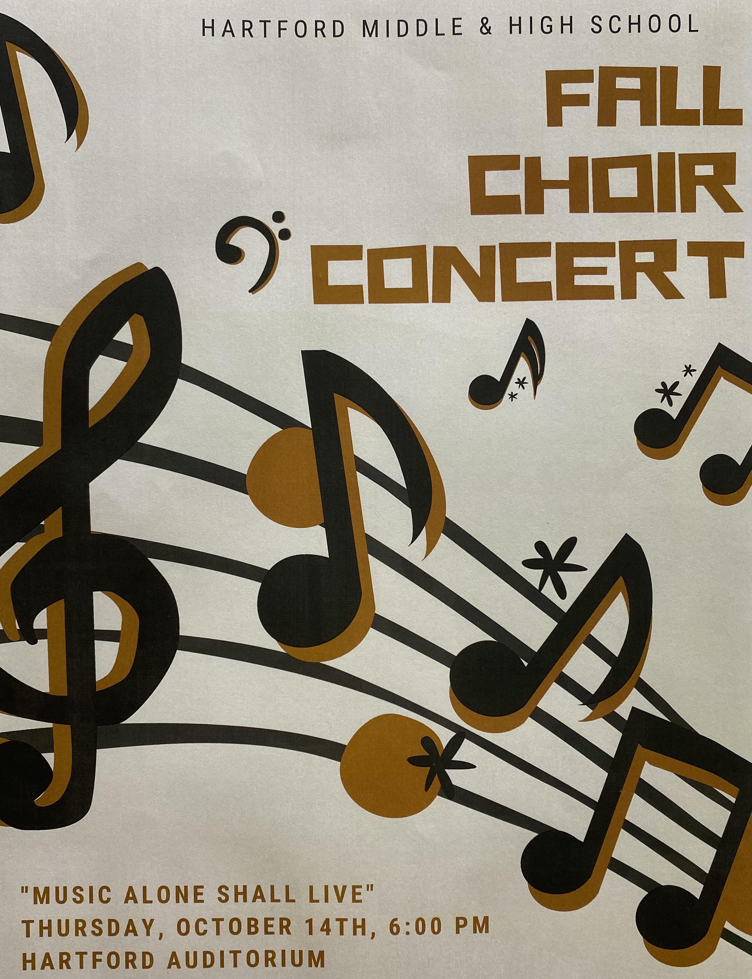 Fall Choir Concert Thumbnail Image