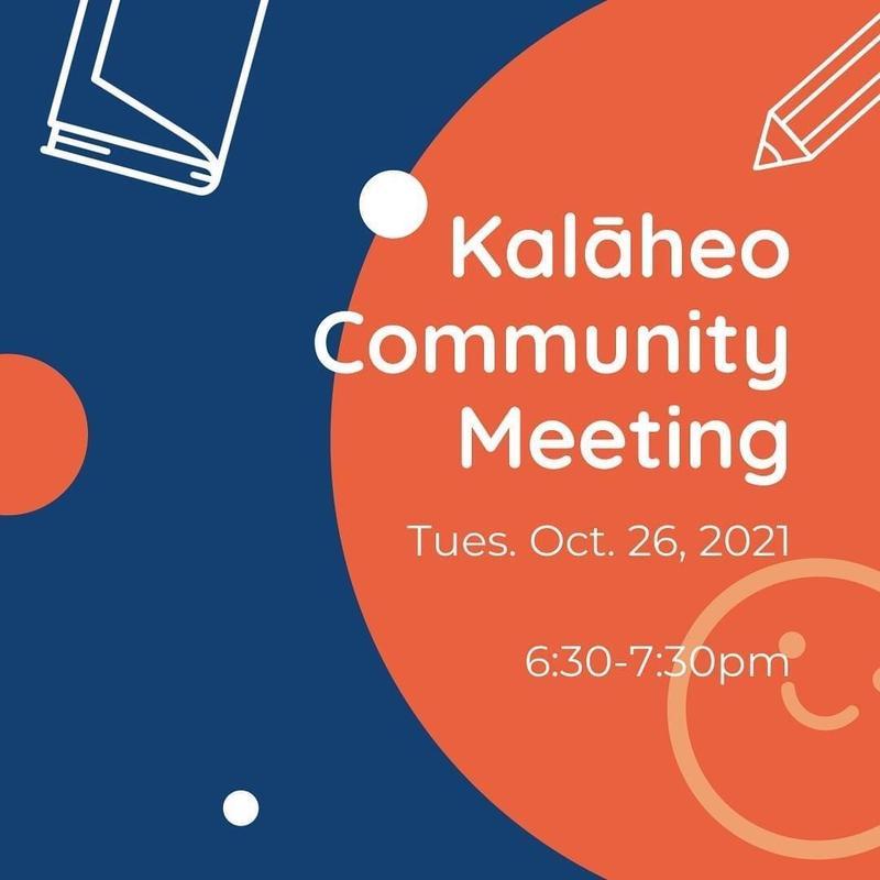 Kalaheo Community Meeting--October 26