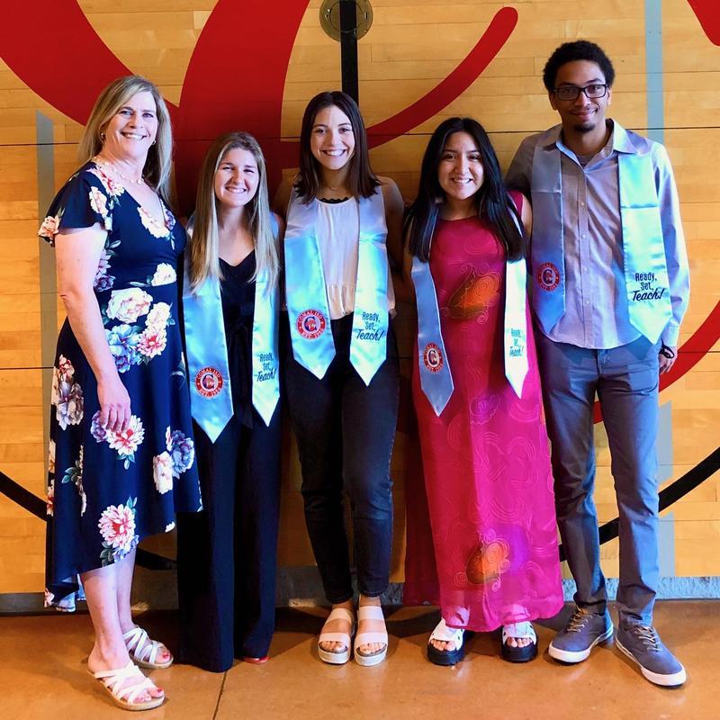 Canyon High Ready, Set, Teach 2021 grads