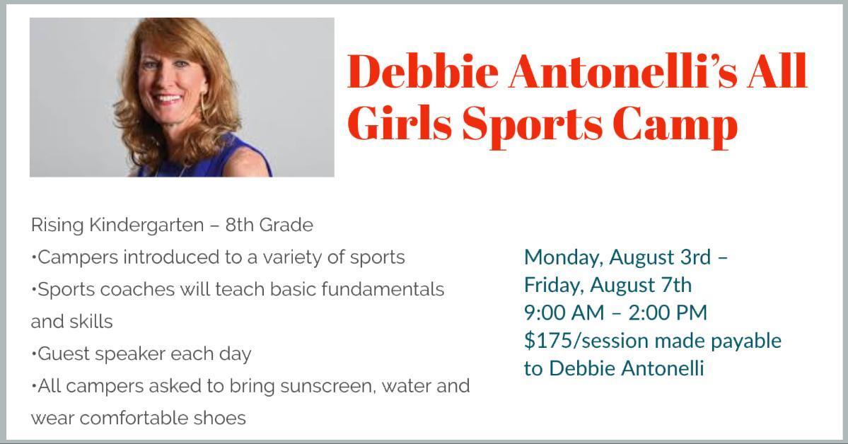 Debbie Antonelli's All Girls Sports Camp