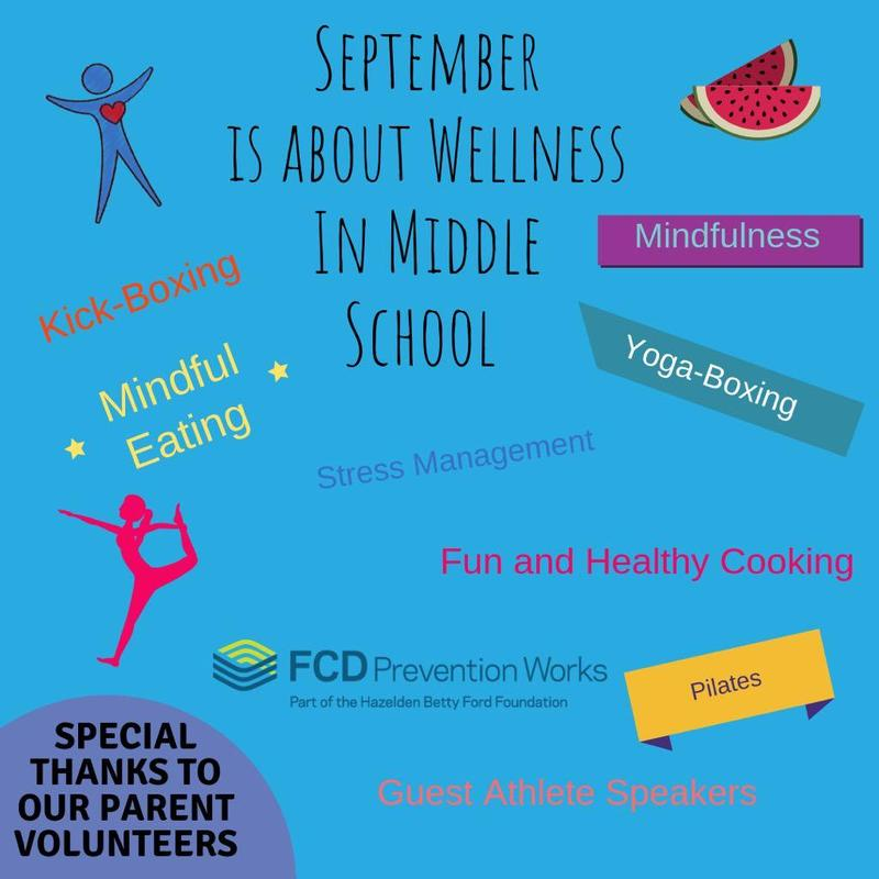 Middle School get ready for a month full of wellness! Featured Photo