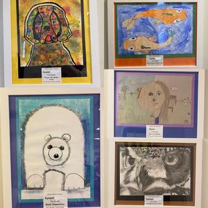 Artwork of students