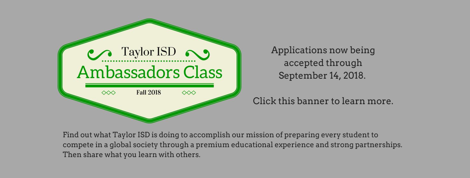 Ambassador's Class