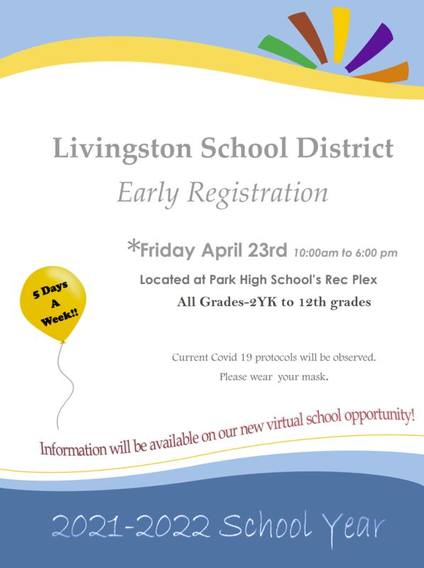 Early Registration Flyer