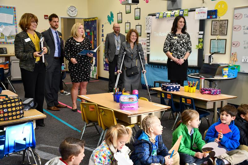 State Representative Shannon Bird visits GVA Northglenn classes