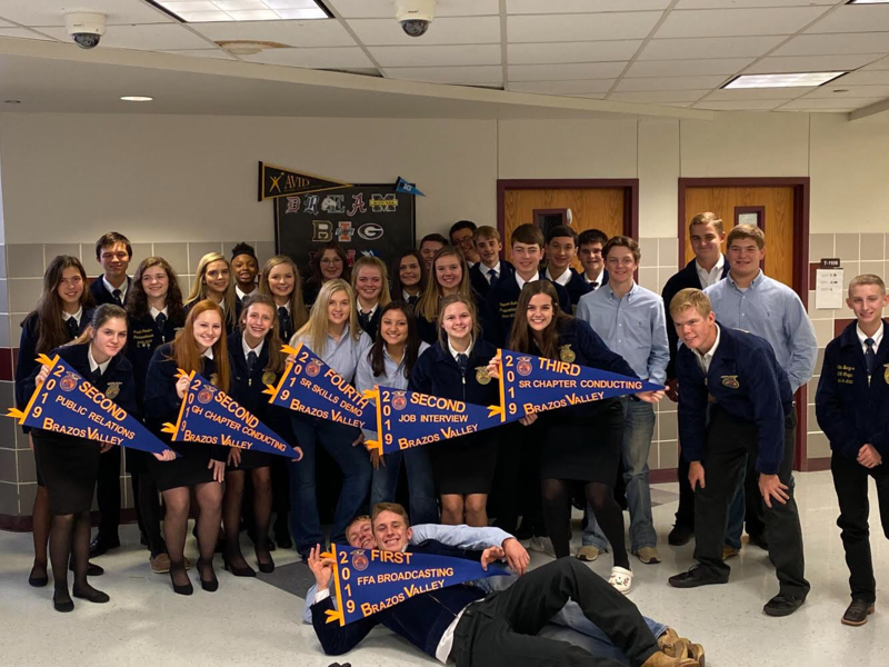 FFA members find success at the District Leadership Contest Featured Photo