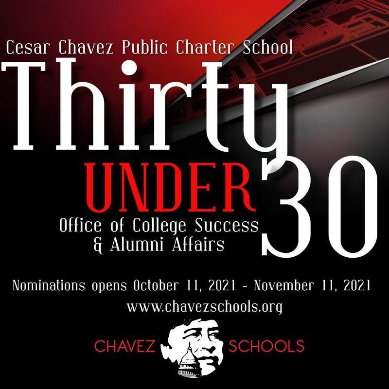 Chavez Alumni 30 under 30 cohort nominations Featured Photo