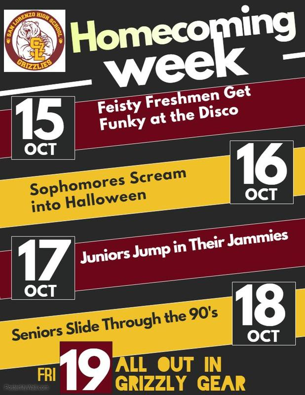Homecoming Week, 10/15-10/20 Featured Photo