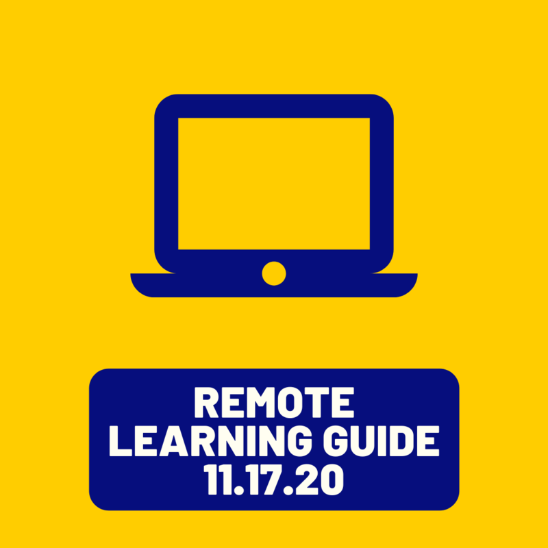 Remote Learning Guide 11.17.20 Featured Photo