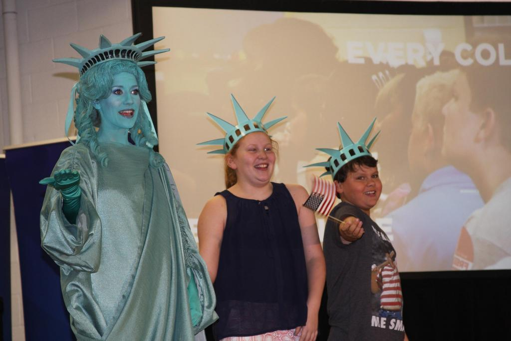 Helping Lady Liberty