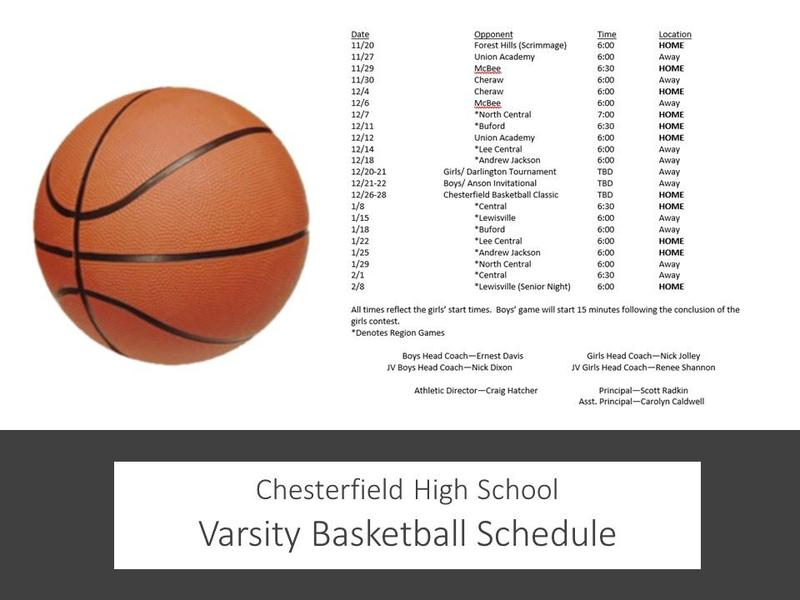 Basketball Schedule Featured Photo