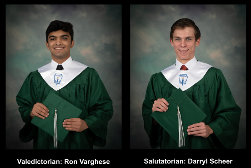 Class of 2021 Valedictorian and Salutatorian Thumbnail Image