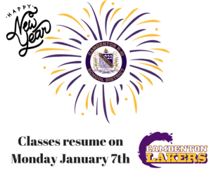 Classes resume on Monday January 7th.png
