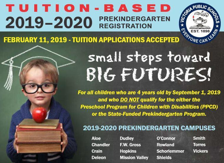 2019-2010 Pre-K Tuition-Based Registration Thumbnail Image