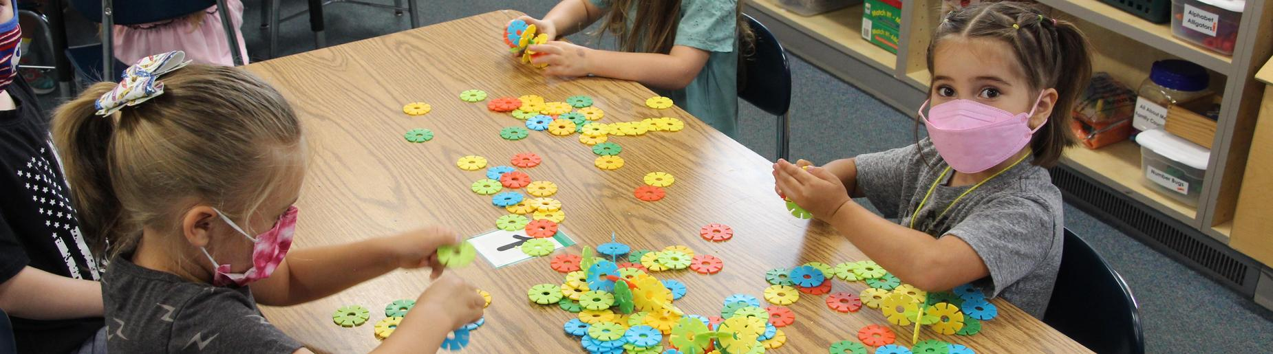 Richard Mann Elementary Students Learn by Playing