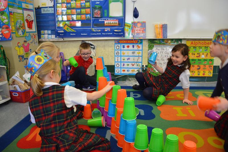 Kindergarten Celebrates 100 Days of School Featured Photo