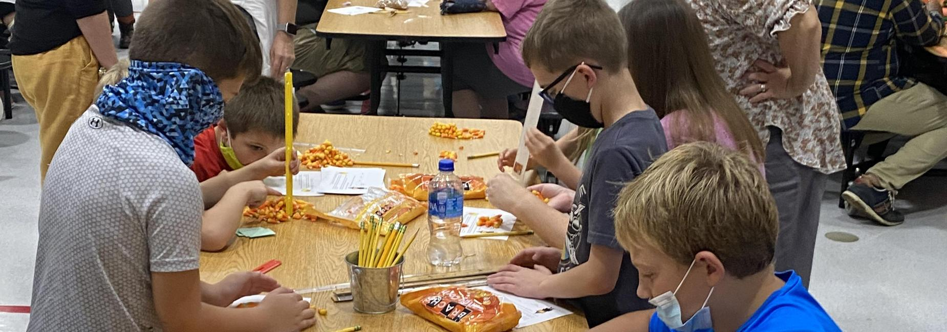 Tinker Together Candy Corn Towers