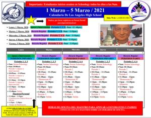 Los Angeles High School - Calendar - 3.1.21 - ODD - Spanish.PNG