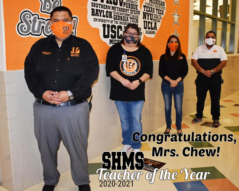 SHMS TEACHER OF THE YEAR 2020-2021 Featured Photo