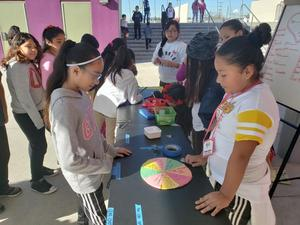 Students participating in kindness activities