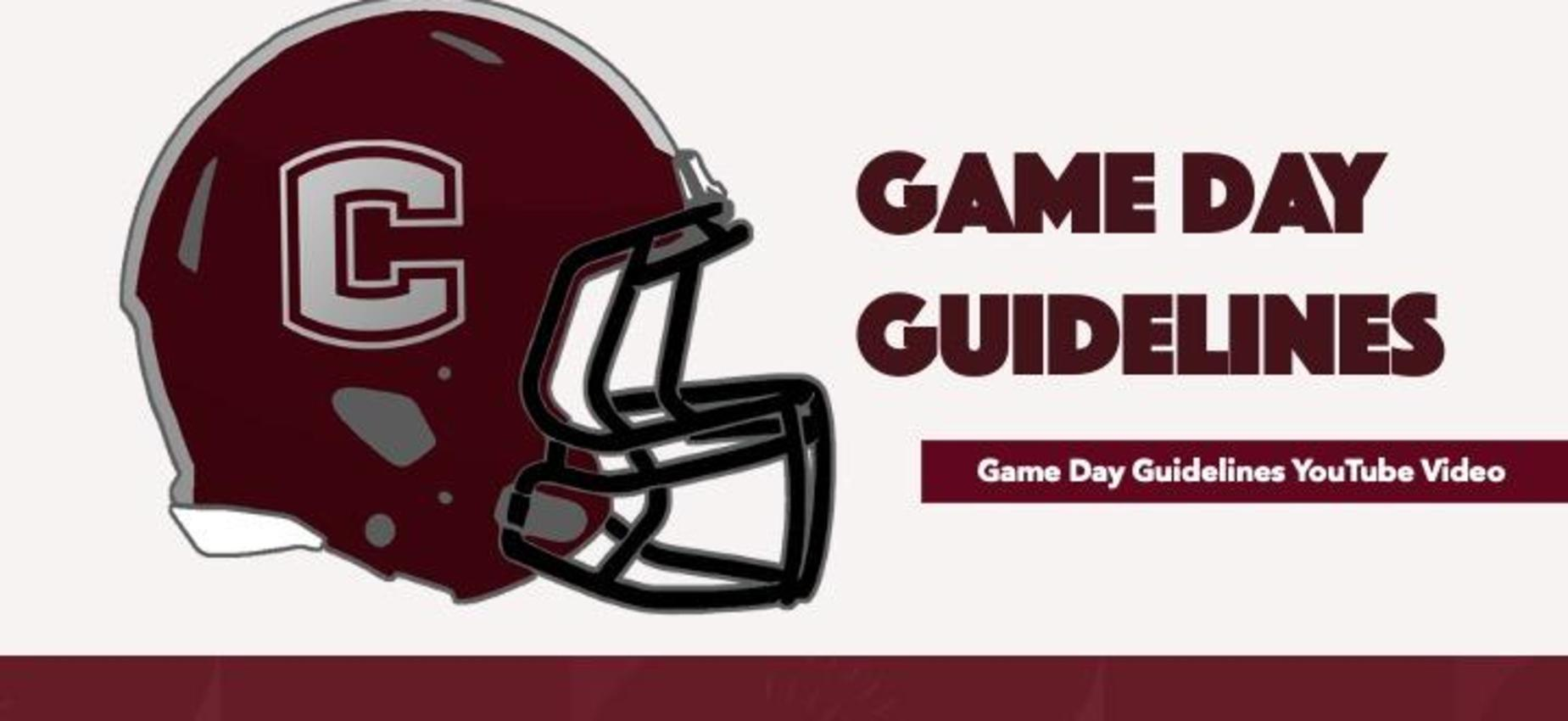 Game Day Guidelines