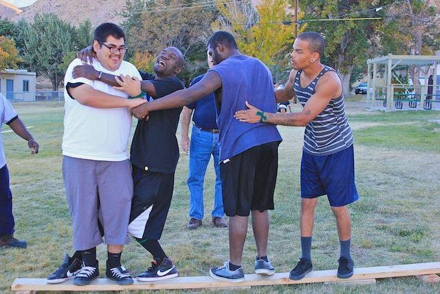 Palmdale students during Mental Toughness