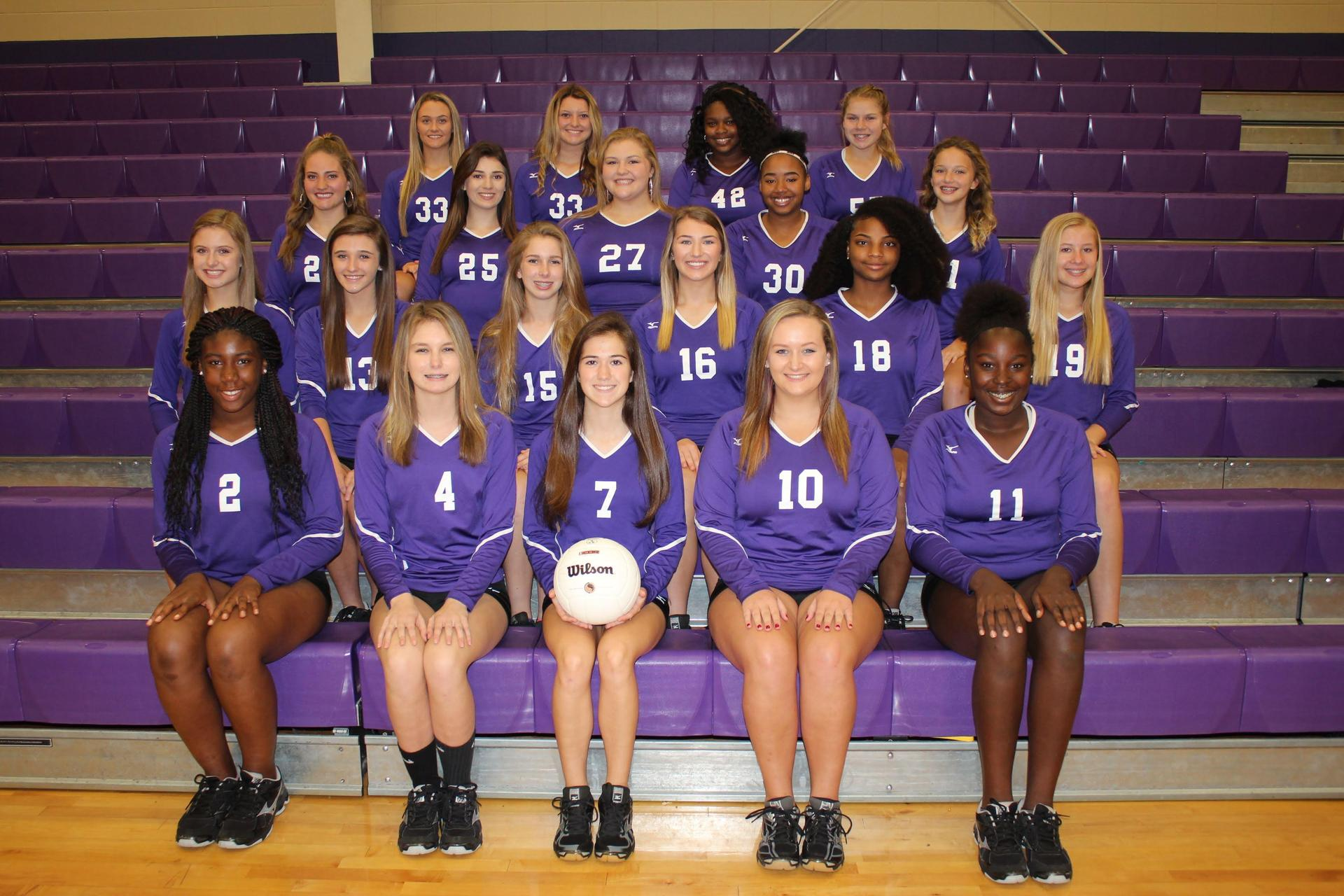 2018 BCHS Volleyball Team