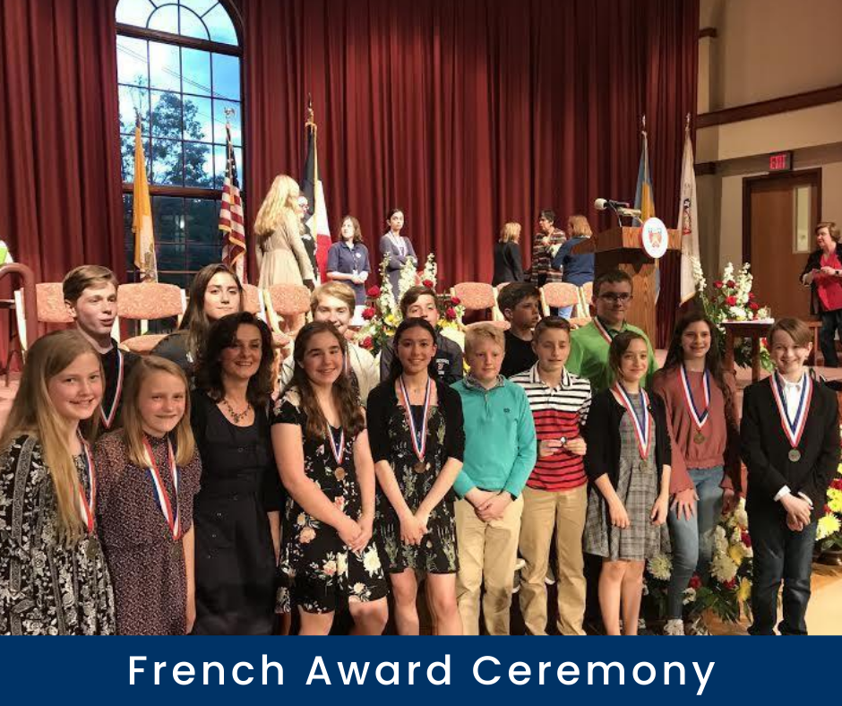 French Award Ceremony