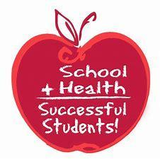 Apple that says school + Health = Successful Students