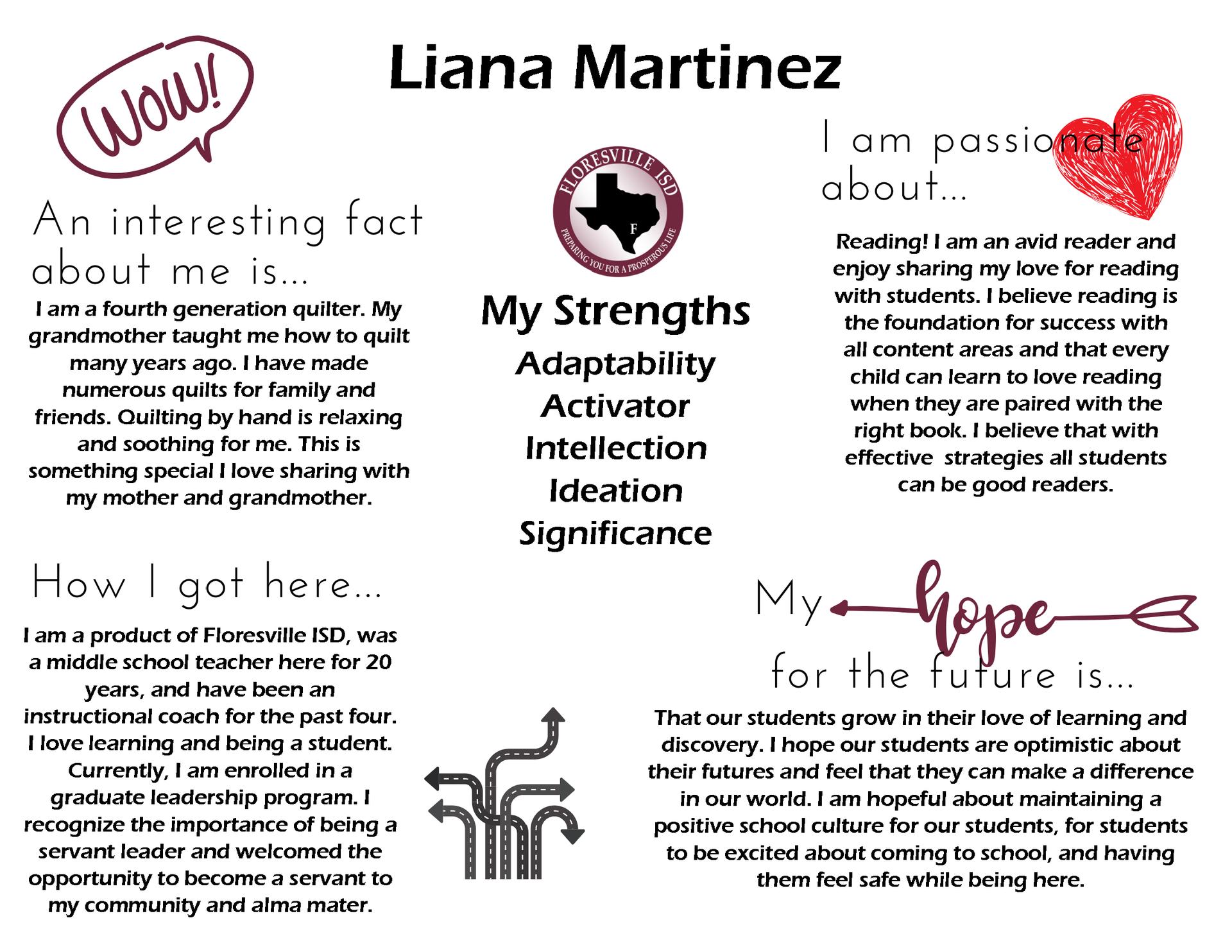 All About Liana Martinez