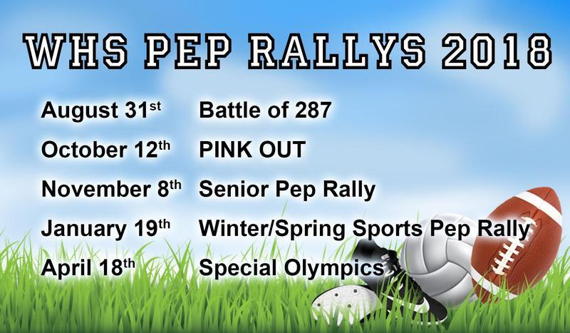 WHS Pep Rallys