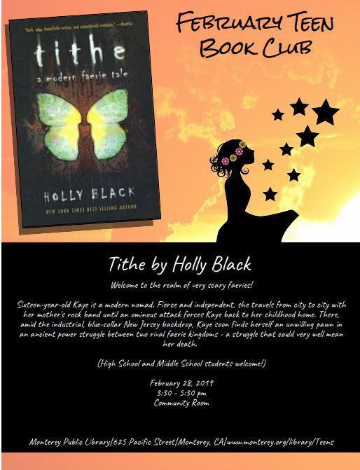 Tithe - Book Club