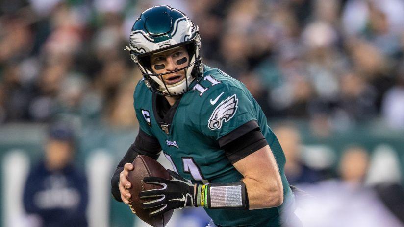Carson Wentz of the Philadelphia Eagles