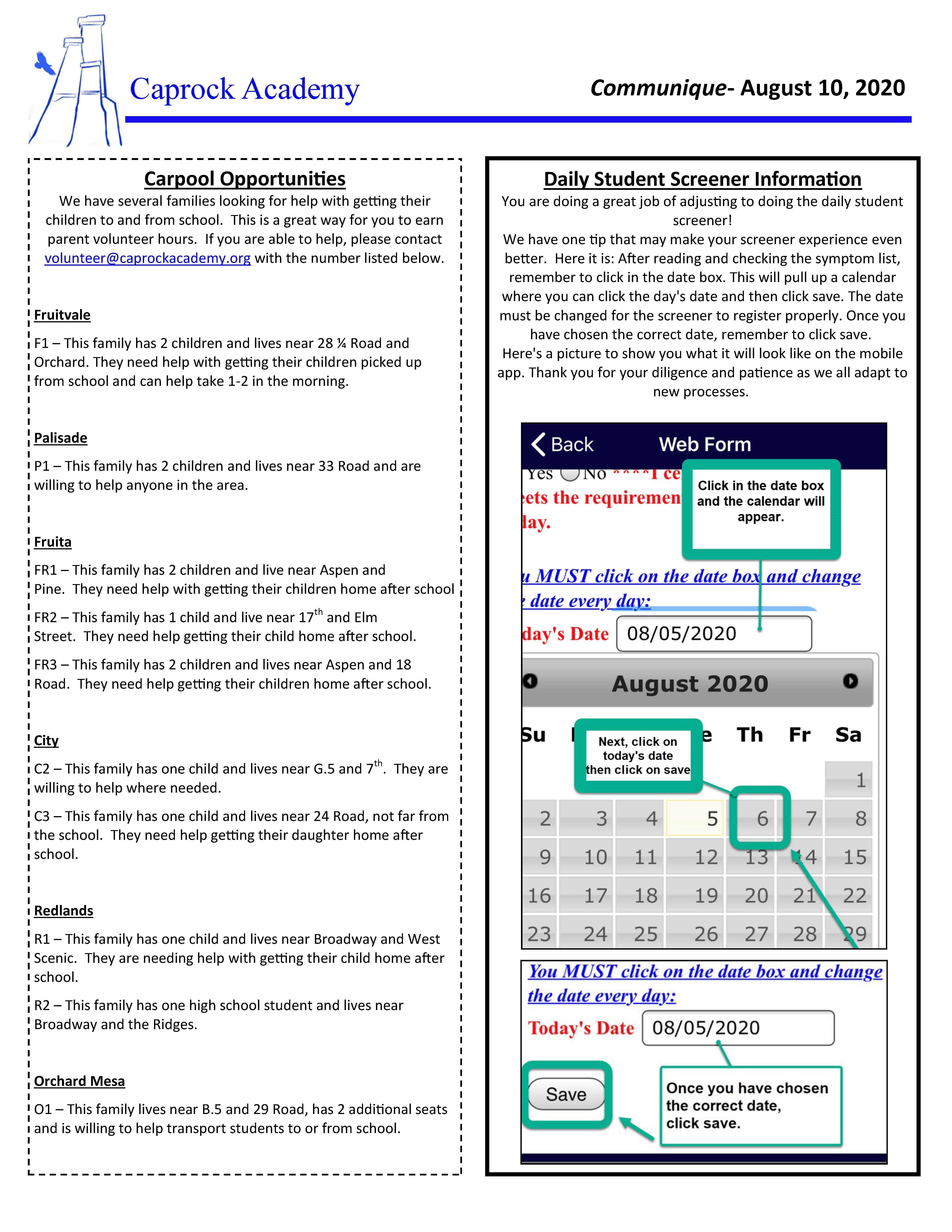 communique 8-10-20 page 2 of 2