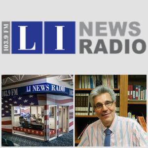 LI News radio logo and Mike Romas