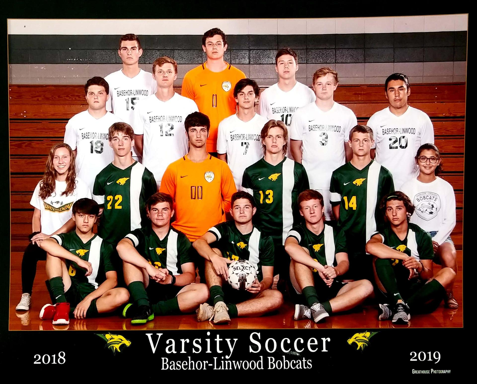 2018-2019 Boys Soccer team