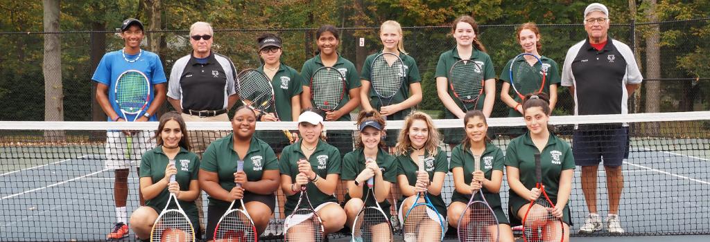 DVFriends Girls Varsity Tennis Team 2019