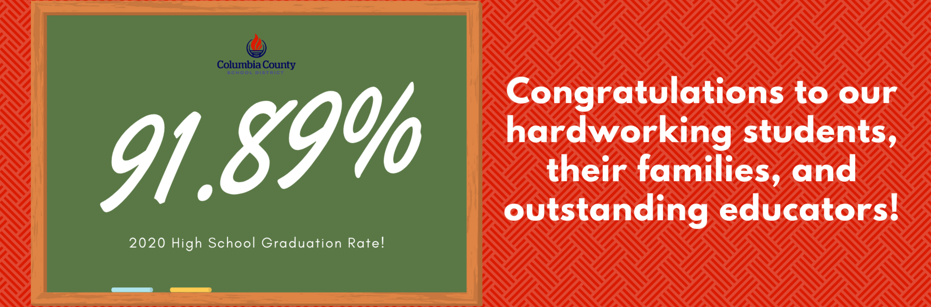 graduation rate infographic