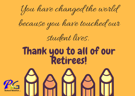 Thank you retirees!