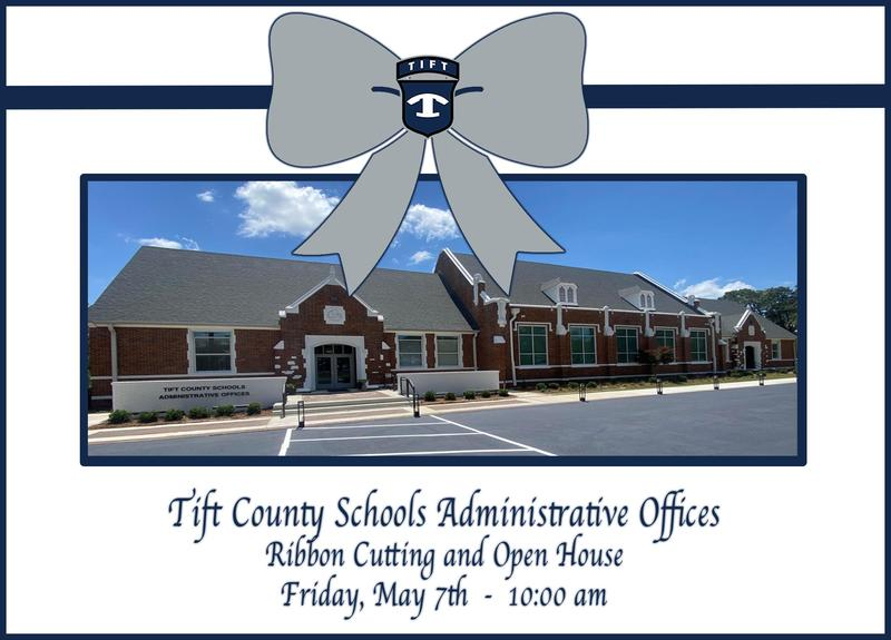Ribbon Cutting and Open House for Tift County Schools Administrative Offices Featured Photo